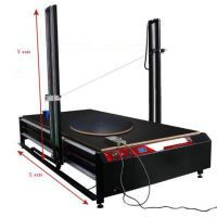 CNC foam 3D cutting machine with turntable