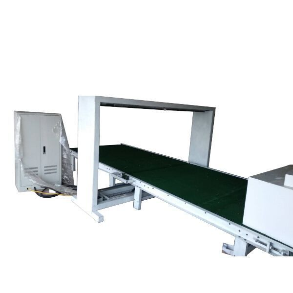CNC vertical hot wire cutting machine with rolling table