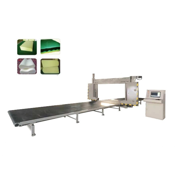 Sponge CNC cyclic blade cutting machine