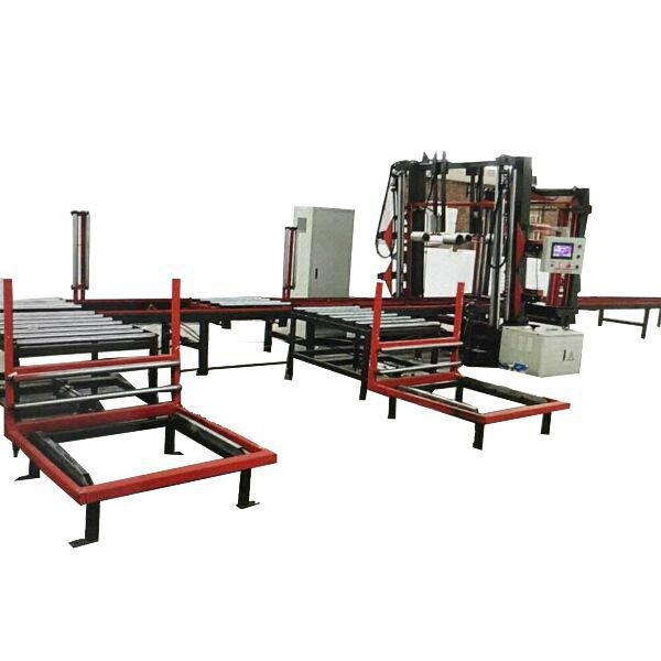 full automatic and continuous hot wire cutting line