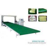 sponge cnc horizontal vibration blade cutting machine
