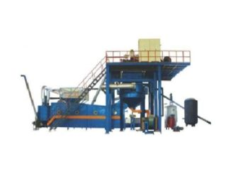 Nonflammable eps coating machine