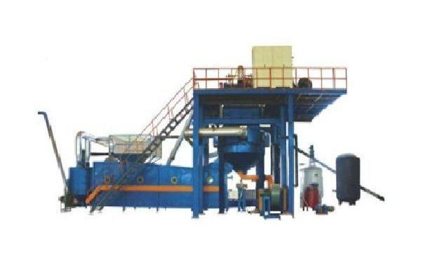 Nonflammable eps coating machine