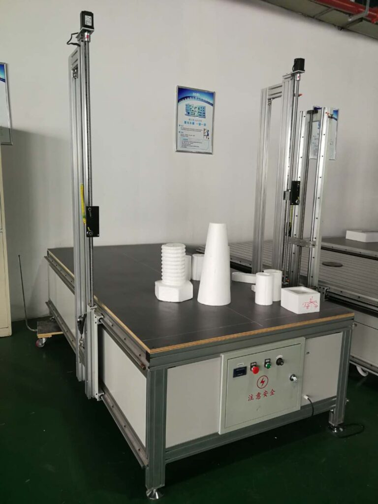 single hot wire cnc foam cutting machine