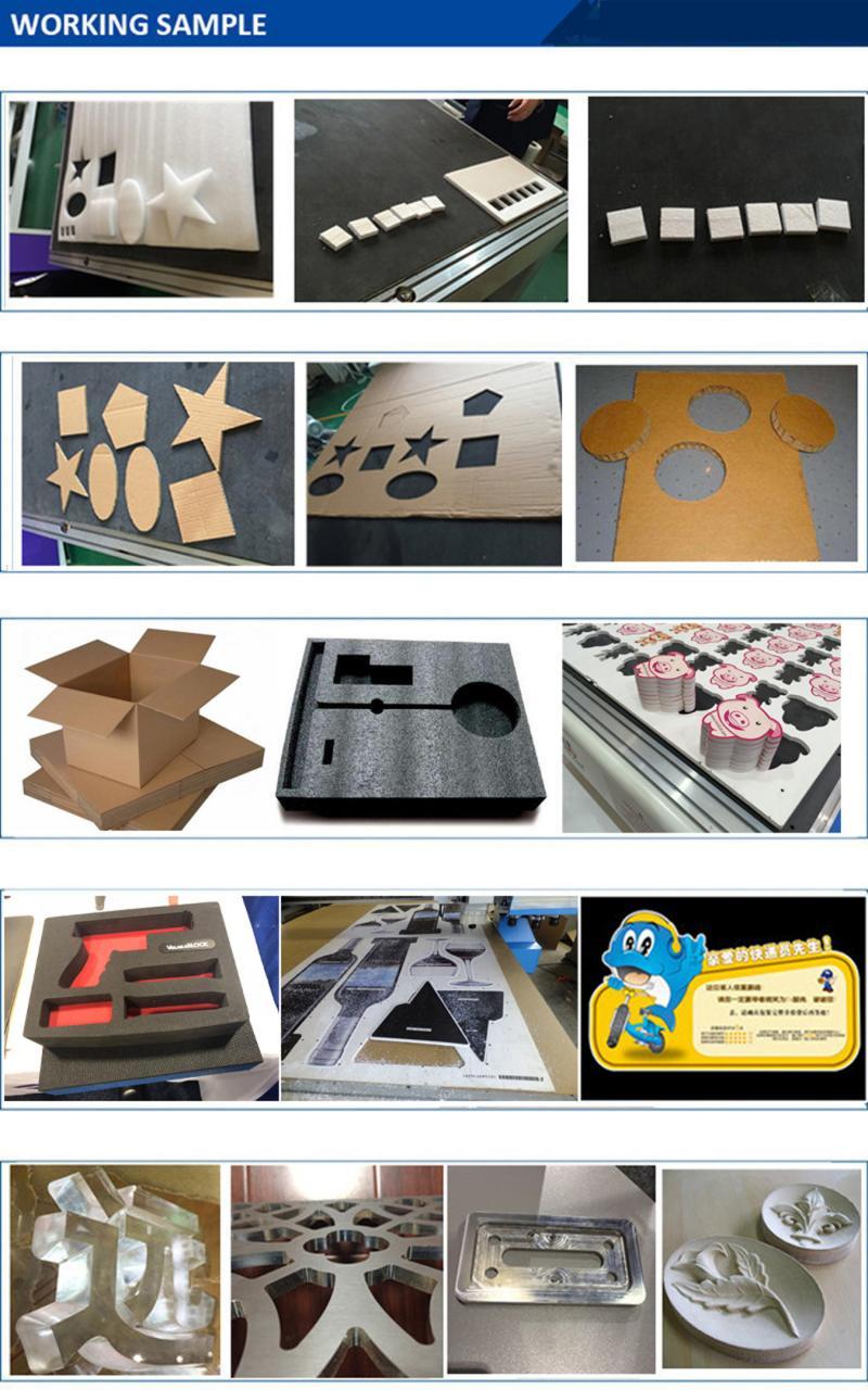 Oscillating Knife Atc CNC Router Cutting Machine for Foam PVC EPS Carton Box