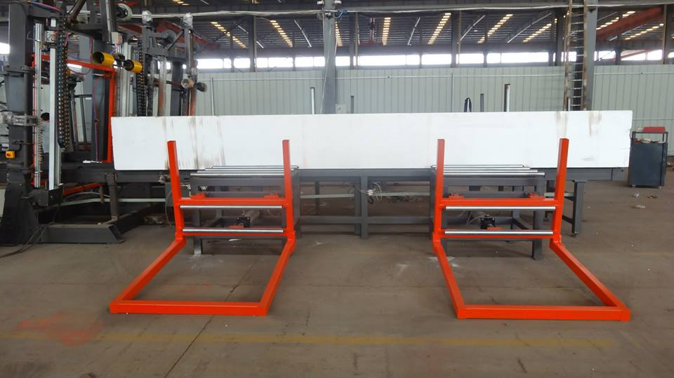 continous eps cutting line