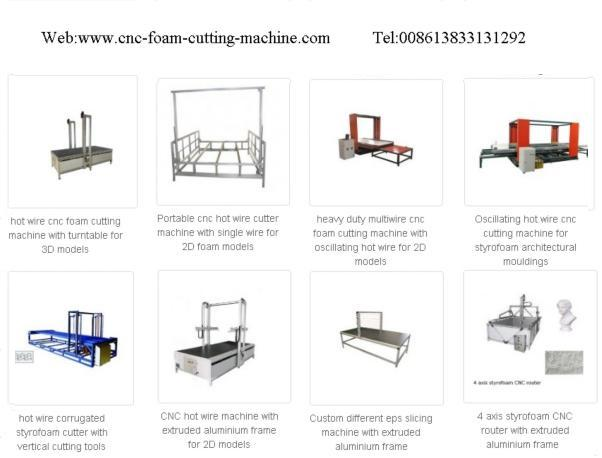 Software programming for cnc foam cutting machine