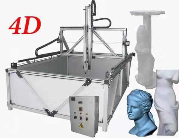 4 axis styrofoam cnc router