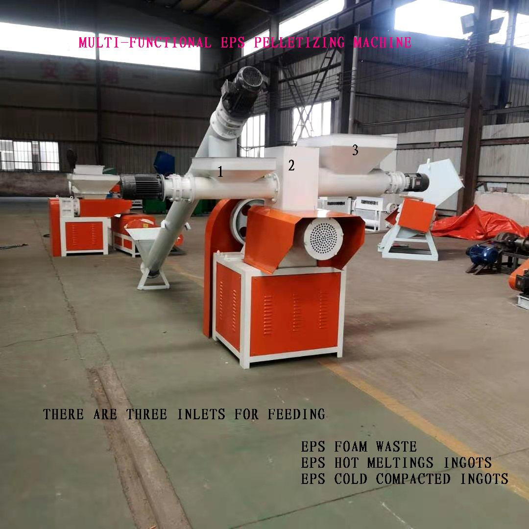 eps pelletizing machine