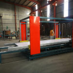 TF Gantry CNC fiber laser cutting machine for large size metal sheet cutting