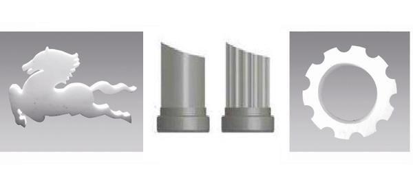 cutting models display