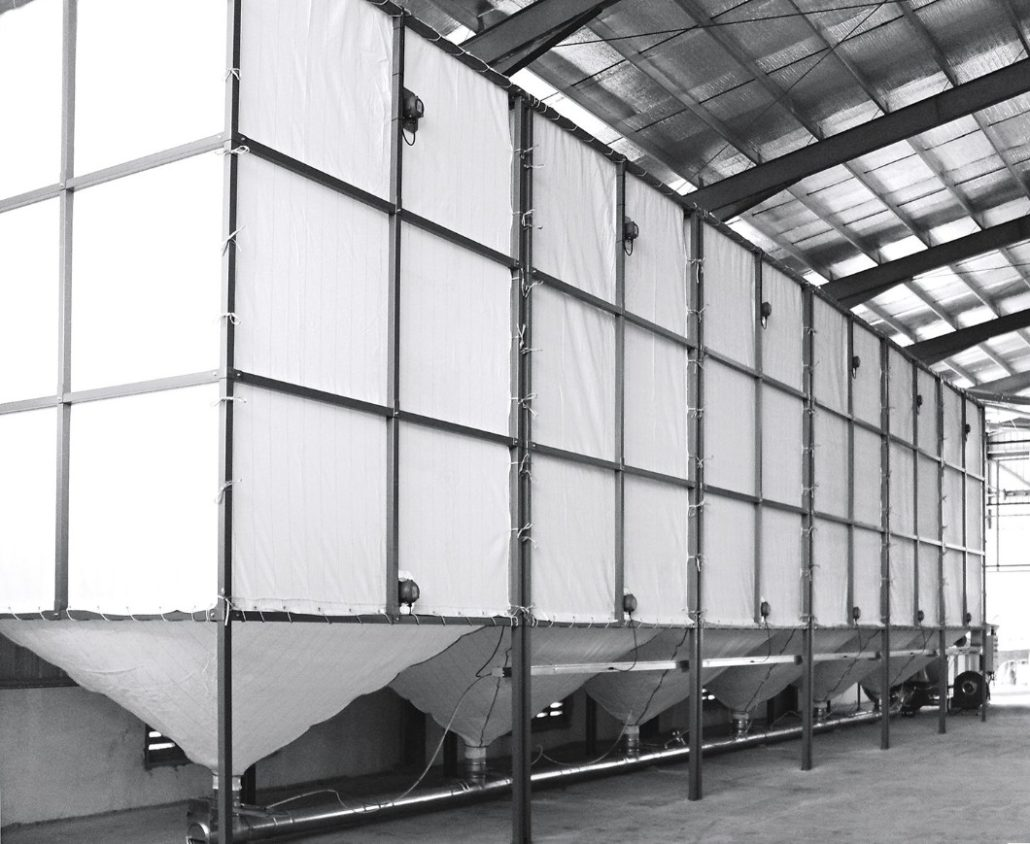 styrofoam silo