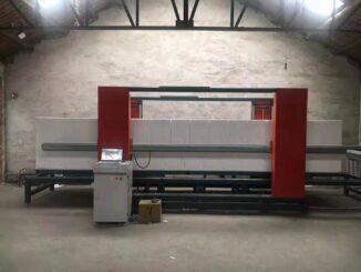 2 axis CNC EPS cutting machine